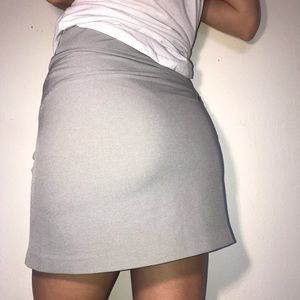Cutter and Buck Grey Pacific golf Skort SZ S